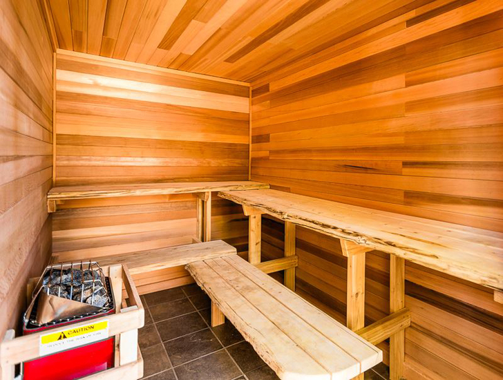 RV parks with saunas
