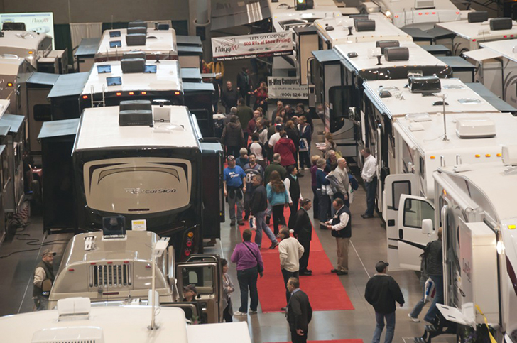 RV shows 2017