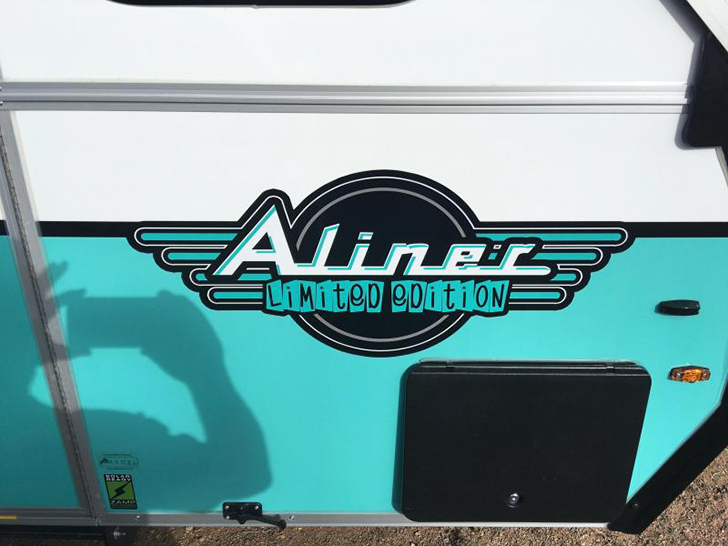 Retro Style Limited Edition Aliner Pop-Up Campers