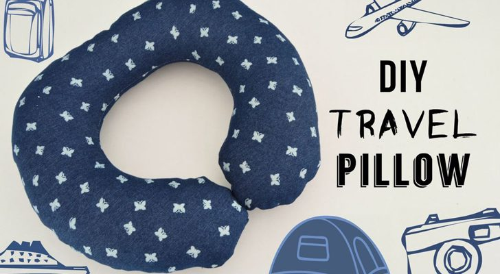 How To Make A DIY Travel Pillow For Your Next RV Trip