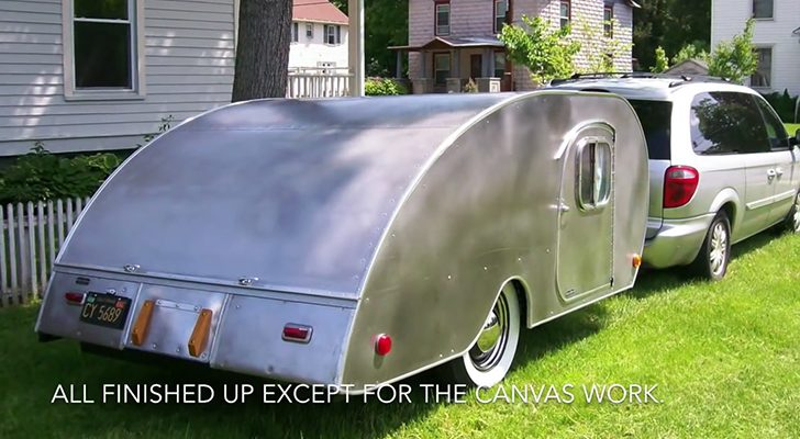 1947 Kampmaster Gets A Beautiful Restoration In This Short Clip