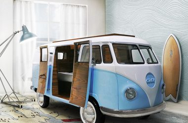 These Full Scale Volkswagen Campervan Beds Can Be Yours – For A Limited Time