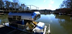 This Vintage Avion Camper Was Beautifully Restored As A Boaterhome