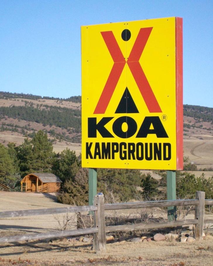 KOA camping