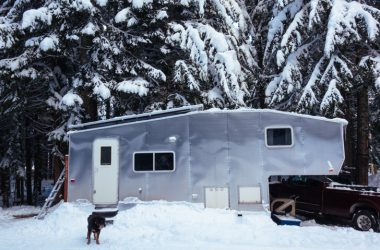 How To Skirt Your RV In The Winter To Keep It From Freezing
