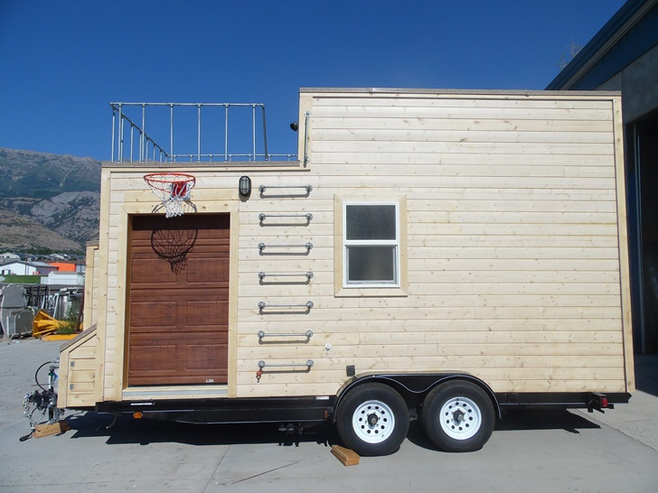 Man Cave Holland Valley : The man cave tiny home trailers by upper valley homes