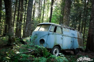 Watch This Abandoned 1955 Volkswagen Get Rescued From The French Alps