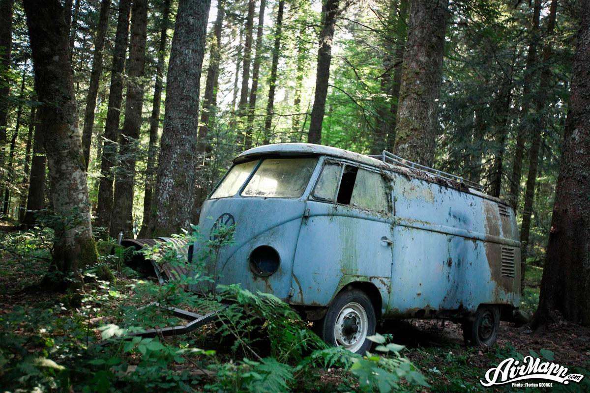 abandoned volkswagen