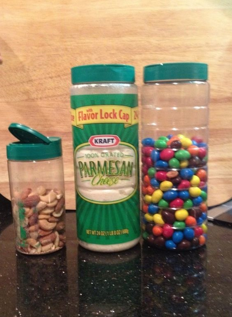 food container upcycle