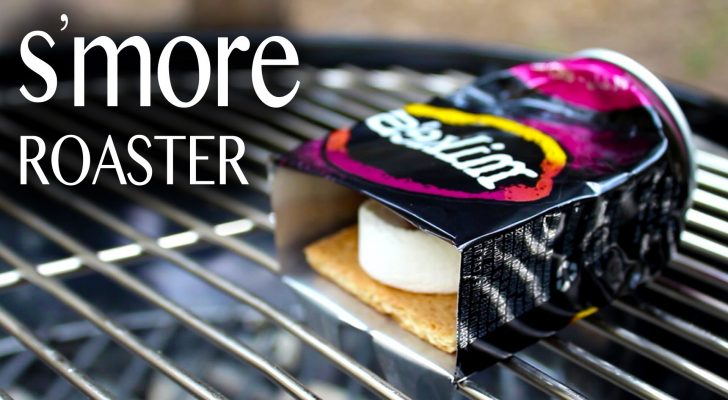 Never Burn Your S'mores Again With This Simple DIY Roaster