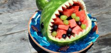 Make These Watermelon Sharks On Your Next Camping Trip