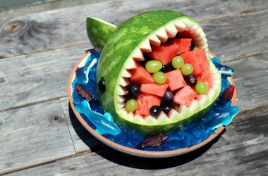 Try Making These Watermelon Sharks On Your Next Camping Trip