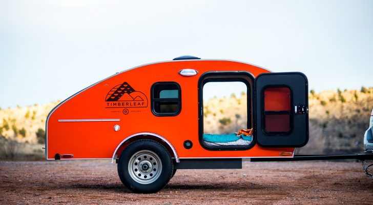 A Sneak Peek Inside Timberleaf's Charming Teardrop Trailers