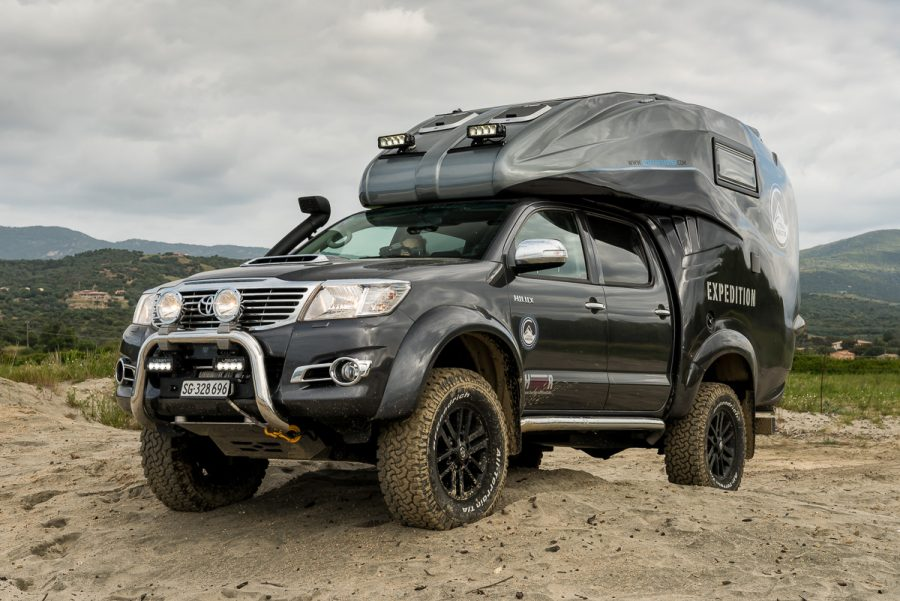 watch this off road expedition vehicle drive around iceland. Black Bedroom Furniture Sets. Home Design Ideas