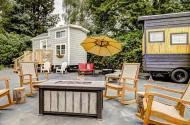 You Can Stay In Themed Tiny Houses At This Unique Hotel In Portland