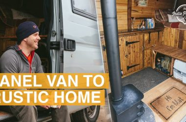 Take A Look Inside This Converted Van With Cabin Style