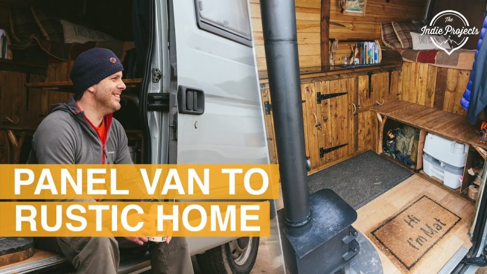 Build Your Own Ford >> Take A Look Inside This Beautiful Rustic Converted Van [VIDEO]