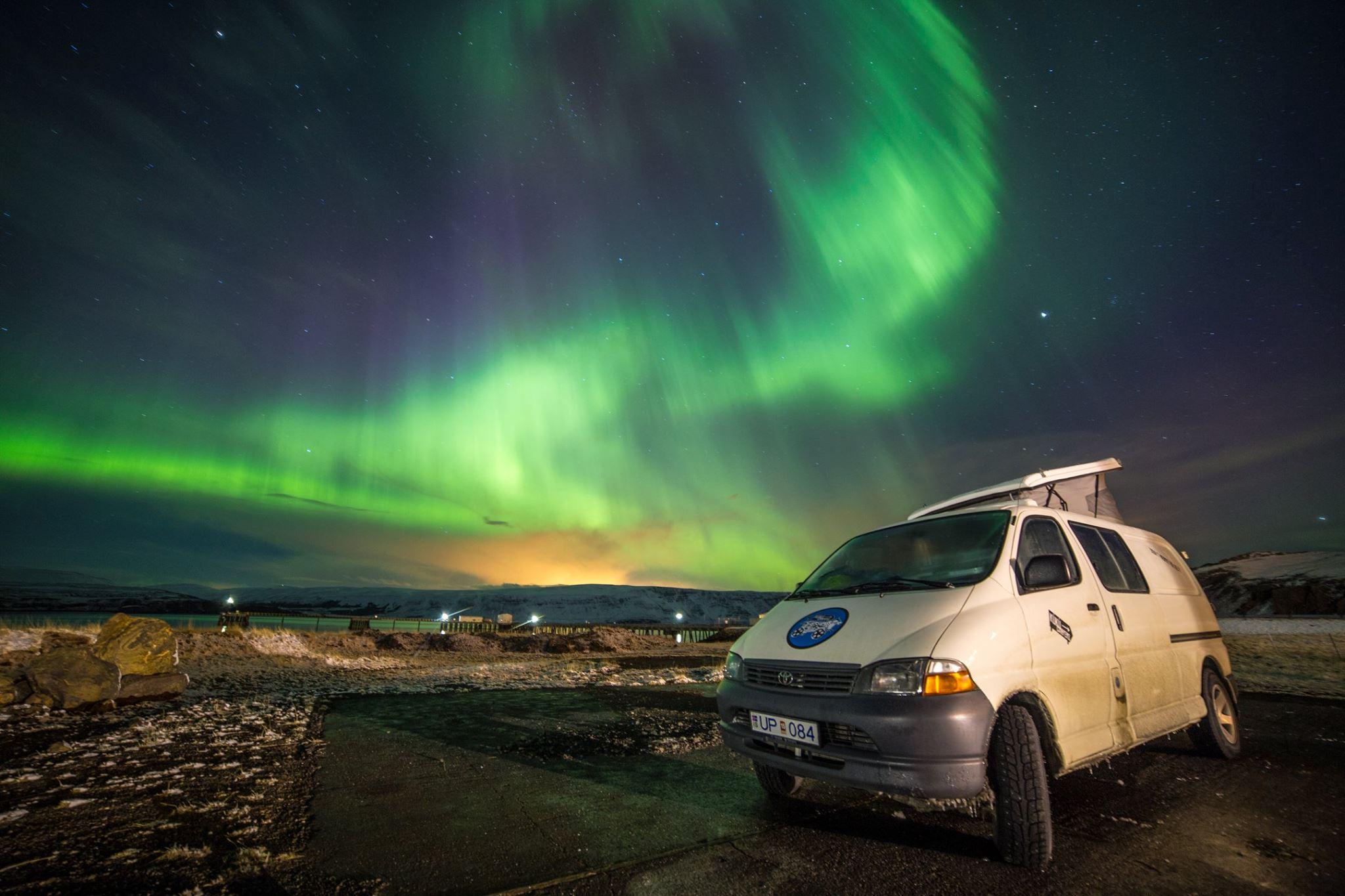 Iceland camper rentals