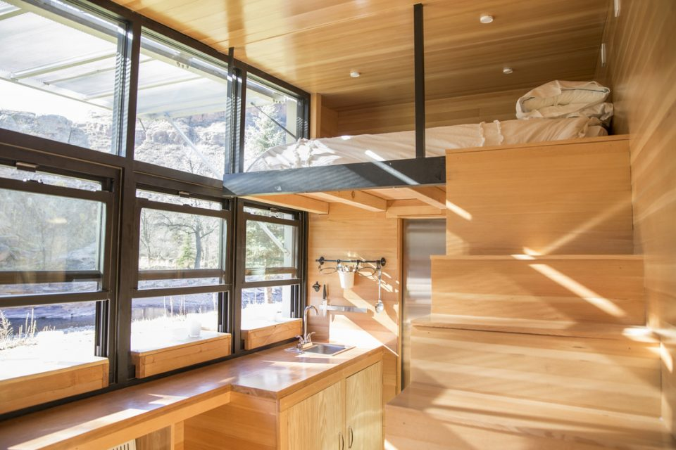 A Sneak Peek Inside Atlas Tiny Houses On Wheels
