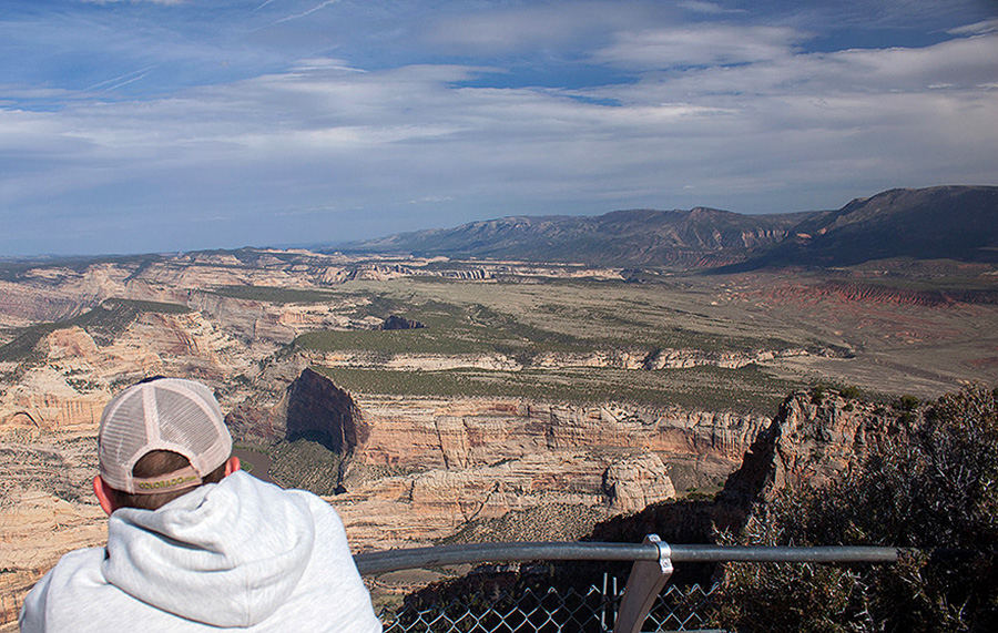 quiet national park