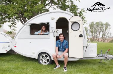A Three-Month Road Trip Inspired This Couple To Start A Teardrop Rental Company