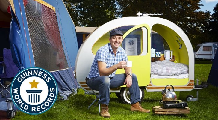 A Closer Look Inside The World's Smallest Caravan