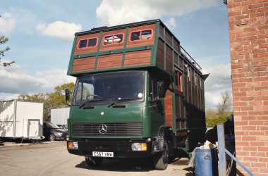 This Old Horse Van Was Converted Into A Gorgeous Home-On-Wheels