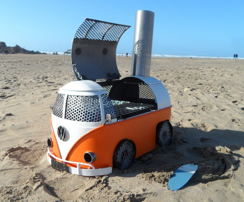 Vintage Trailer Resort >> Volkswagen BBQ Grills And Log Burners By Metal Art & Fabrications
