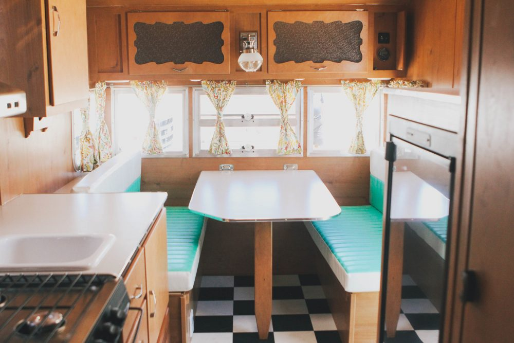 Vintage Trailer Rentals On San Clemente Beach In California