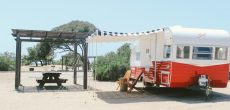 You Can Stay In These Charming Vintage Trailers On The California Coast