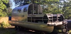This 1968 Airstream Sovereign Was Restored As A Badass Boaterhome