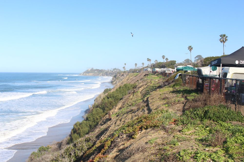 Pacific Ocean campgrounds