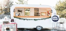 This $200 Vintage Trailer Was Transformed Into A Charming Mobile Bistro