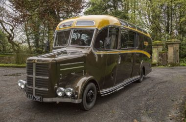 A Look Inside This Transformed 1950 Bedford OB Bus