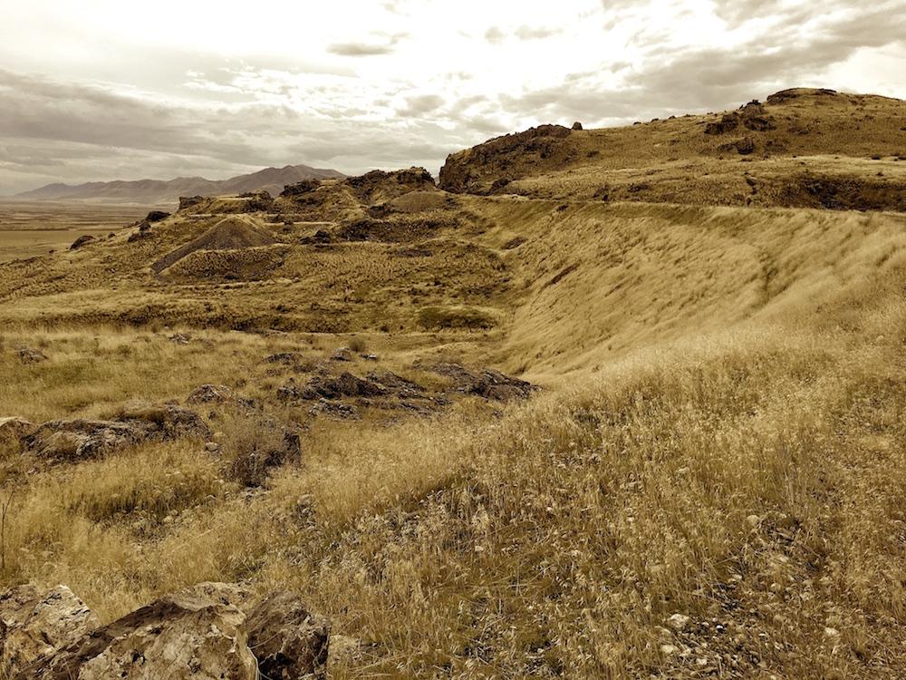 The Big Fill at Promontory, Utah