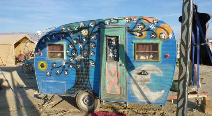 4 Things You Need To Know About Taking An RV To Burning Man