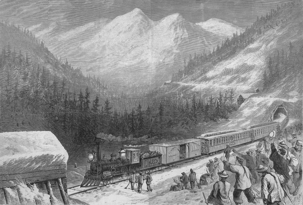 Chinese Railroad Workers in the Sierra Nevada
