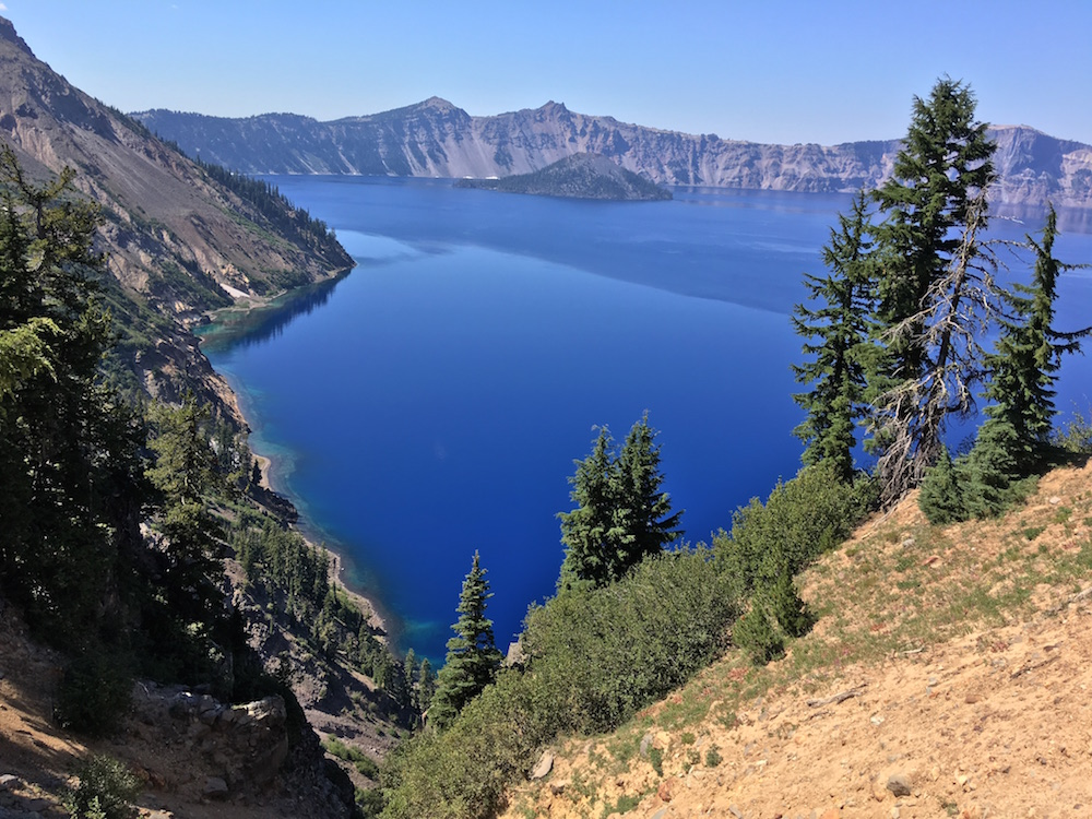 Crater Lake - Full-time RV'ing Younger Folks