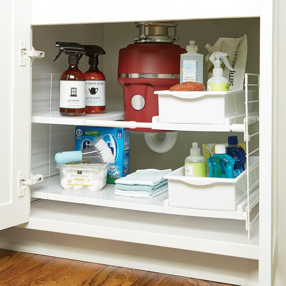 Rv bathroom storage organization tips and tricks - Under sink bathroom storage cabinet ...