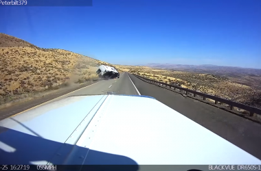 Watch This Speeding Camper Flip And Crash On The Highway