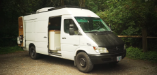 A Closer Look Inside This Converted Sprinter Van