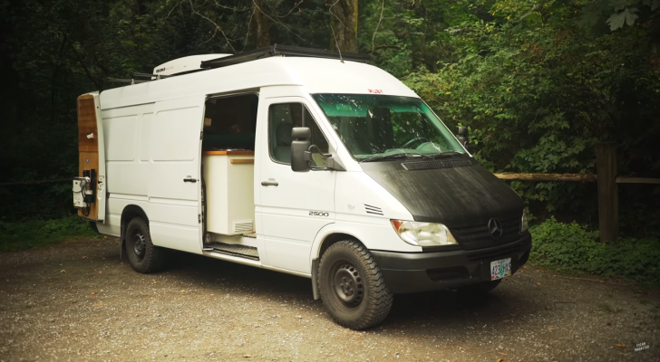 A Closer Look Inside This Converted Sprinter Van