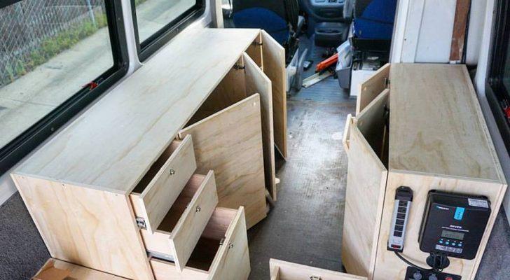 This Carpenter Builds Simple, Smart Van Conversions