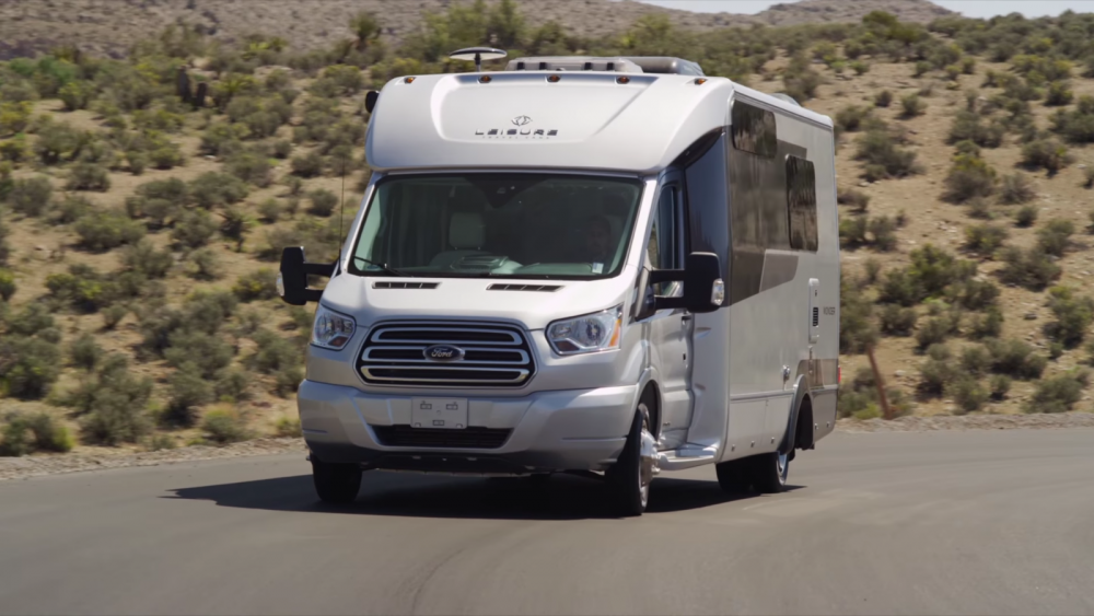 Video Tour Of The 2018 Wonder Ftb By Leisure Travel Vans