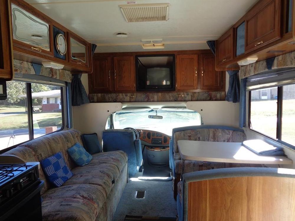 This used RV looks to be in good condition at first glance, but in reality, it had major water damage.