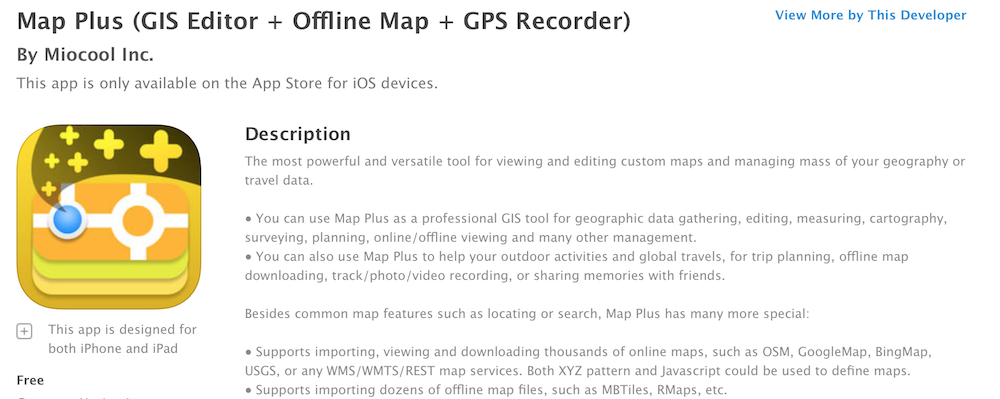 How To Use The Map Plus App To Plan RV Trips
