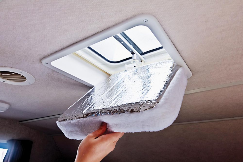 Rv Vent Insulators Hold In Warm Air During The Winter