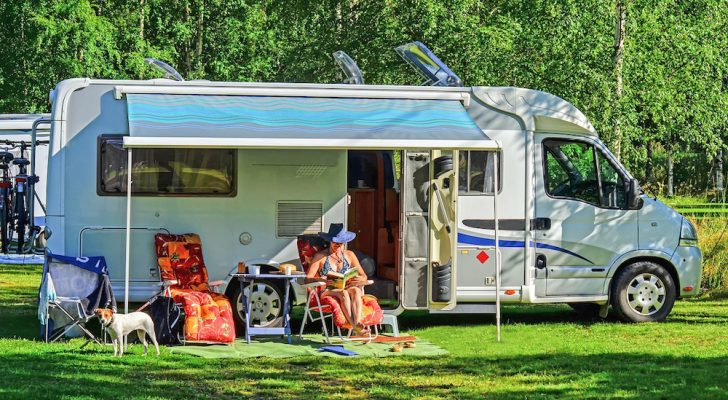 People-Watching in an RV Park