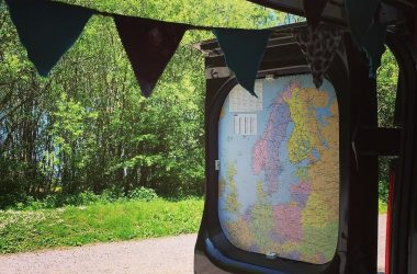 8 Ways To Decorate Your RV With Maps