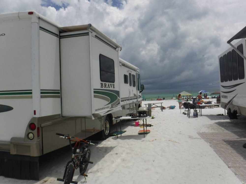 8 Rv Parks And Campgrounds In Florida With Beach Access